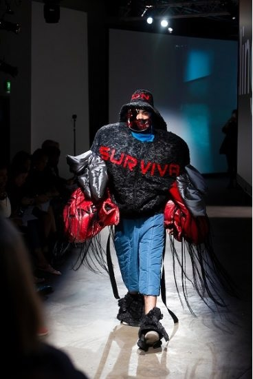 Lingfeng Zhu London College of Fashion UAL BA18 Menswear Degree Show Photograph by In-Press Photography courtesy of UAL